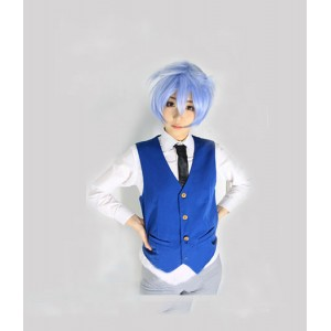 Assassination Classroom : Bleu Gilet Shiota Nagisa Costume Cosplay Acheter