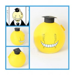 Assassination Classroom : Jaune Anime Casque Korosensei Cosplay Vente Pas Cher