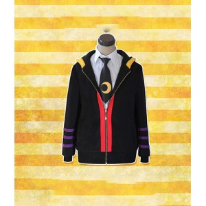 Assassination Classroom : Noir Sweat Shirt Korosensei Costume Cosplay Acheter