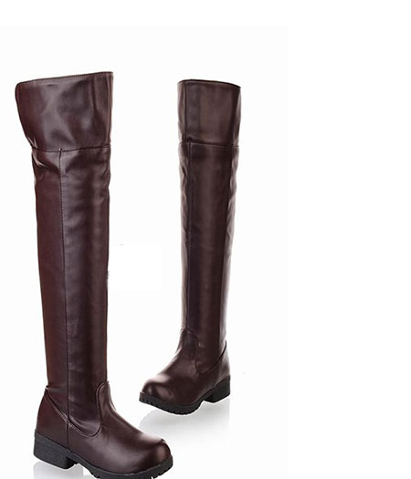 Attack On Titan : Attrayant Brown Eren Jaeger Long Boots Cosplay Achat