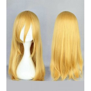 Attack on Titan : Christa Lenz Jaune Wig Cosplay Vente Pas Cher