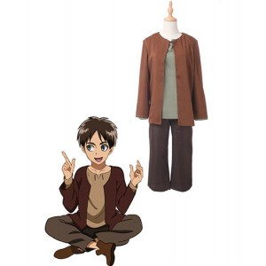 Attack On Titan : Eren Jaeger Enfance Japon Costume Cosplay Achat