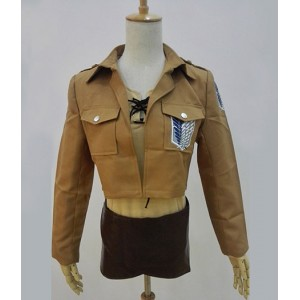 Attack on Titan : Eren Jager Veste Manteau Costume Cosplay Acheter
