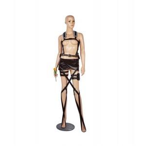 Attack on Titan : Femme Sexy Cosplay Noir Costume Acheter