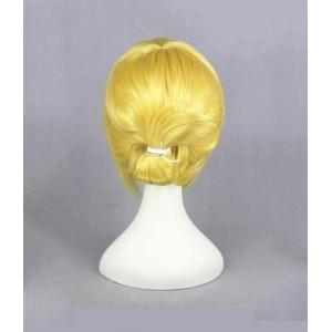 Attack on Titan : Haute Qualité Jaune Long Wig Annie Leonheart Cosplay