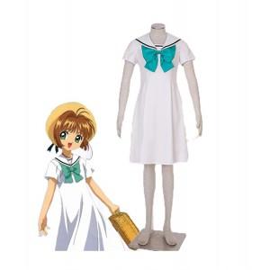 Cardcaptor Sakura : Marin Blanc Robe Sakura Kinomoto Costume Cosplay Achat