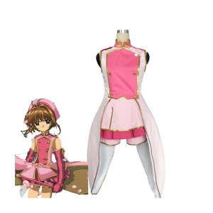 Cardcaptor Sakura : Kinomoto Sakura Ensemble Complet Costume Cosplay Acheter