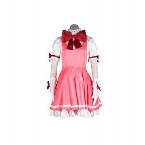 Cardcaptor Sakura : Kinomoto Sakura Rose Long Robe Costume Cosplay Acheter