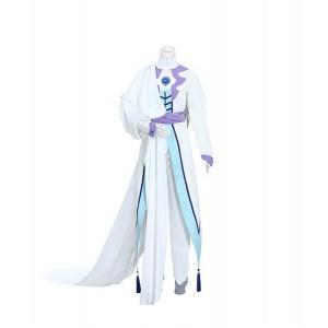 Cardcaptor Sakura : Cyan Clair Tsukishiro Yukito Costume Cosplay Achat
