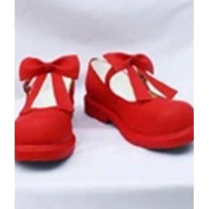 Cardcaptor Sakura : Adorables Rouge Court Chaussures Cosplay Acheter