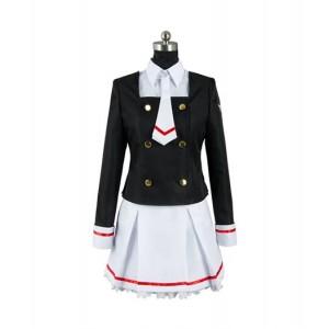 Cardcaptor Sakura : Sakura Kinomoto Clear Card Uniforme Costume Cosplay