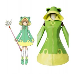 Cardcaptor Sakura : Haute Qualité Adorables Clear Card Kinomoto Sakura Costume Cosplay