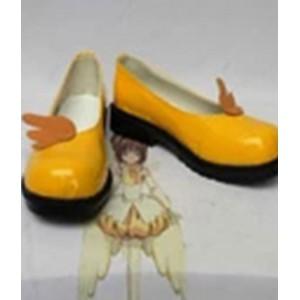 Cardcaptor Sakura : Jaune Court Chaussures Kinomoto Sakura Cosplay Acheter