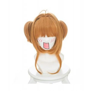 Cardcaptor Sakura : Femme Jaune Wig Kinomoto Sakura Cosplay Acheter