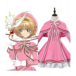 Cardcaptor Sakura : Kinomoto Sakura Rose Robe Costume Cosplay
