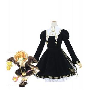 Cardcaptor Sakura : Noir Robe Lolita Costumes Cosplay Acheter