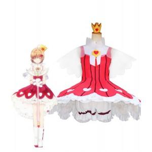 Cardcaptor Sakura : Rose Heart Fighting Sakura Kinomoto Costumes Cosplay Vente Pas Cher