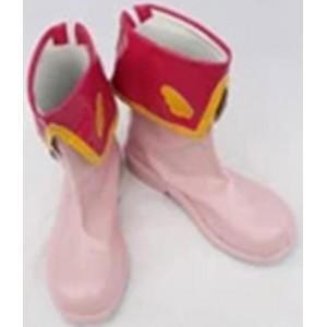 Cardcaptor Sakura : Haute Qualité Rose Section Moyenne Chaussures Cosplay