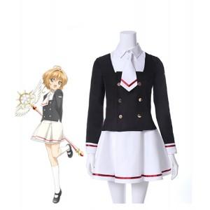 Cardcaptor Sakura : Campus Uniforme Sakura Tomoyo Costumes Cosplay Acheter
