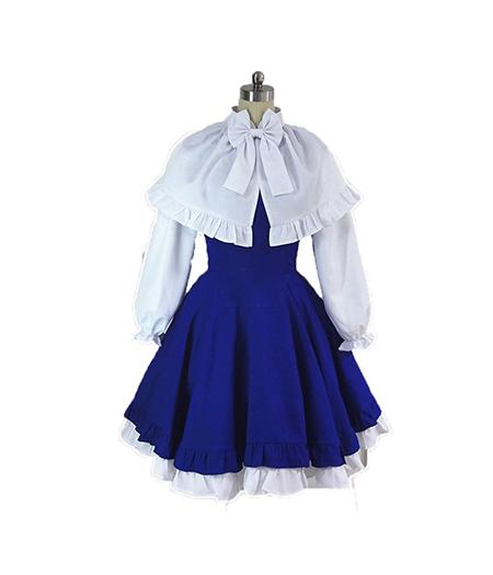 Cardcaptor Sakura : Bleu Robe Tomoyo Daidouji Costumes Cosplay Acheter Pas Cher