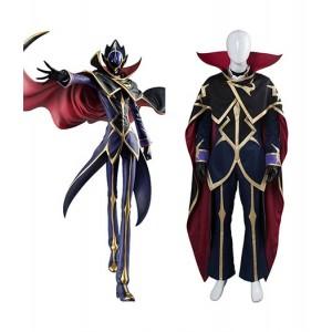 Code Geass : Noir Fukkatsu No Lelouch Zero Costume Cosplay Achat