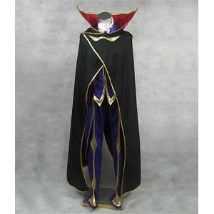 Code Geass : Noir Lelouch Of The Rebellion Zero Costume Cosplay
