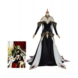 Code Geass : Lelouch Of The Rebellion CC Noir Robe Cosutme Cosplay
