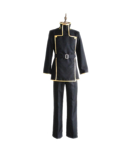 Code Geass : Lelouch Zero Lamperouge Ashford Noir Uniforme Costume Cosplay Acheter