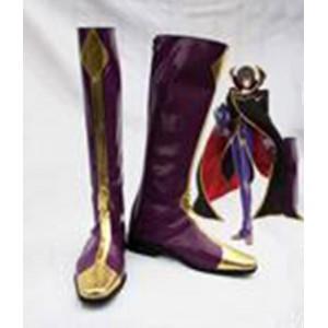 Code Geass : Lelouch Zero Pourpre Boots Cosplay Acheter