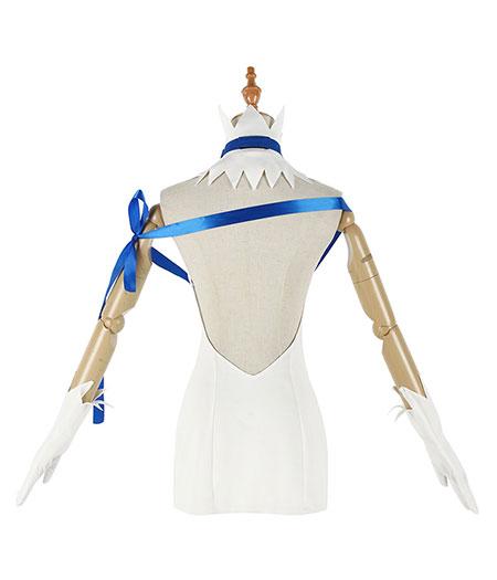 Dungeon Ni Deai Wo Motomeru No Wa Machigatteiru Darou Ka Hestia Blanc Costume Cosplay Acheter