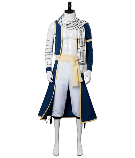 Fairy Tail : Natsu Dragneel Ensemble Complet Costume Cosplay Acheter