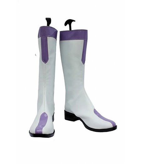 Fairy Tail : Haute Qualité Juvia Loxar Blanc Boots Cosplay Acheter