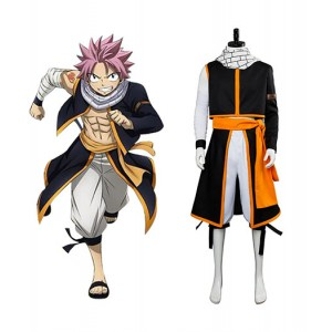 Fairy Tail : France Natsu Final Series Dragneel Cosplay Costume Acheter