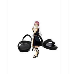 Fairy Tail : Natsu Dragneel Noir Sandales Chaussures Cosplay Acheter Pas Cher