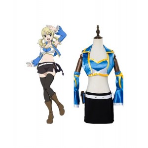 Fairy Tail : Top Et Short Lucy Heartfilia Costume Cosplay Acheter