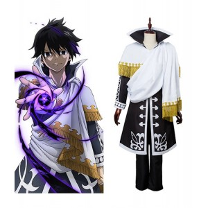 Fairy Tail : Zeref Dragneel Cosplay Anime Costume Vente Pas Cher