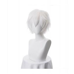 Gintama : Blanc Argenté Sakata Gintoki Wig Cosplay Vente Pas Cher