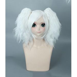 Gintama : Blanc Courte Wig Sakata Gintoki Cosplay Acheter