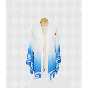 Gintama : Blanc Et Bleu Kimono Gintoki Sakata Costume Cosplay