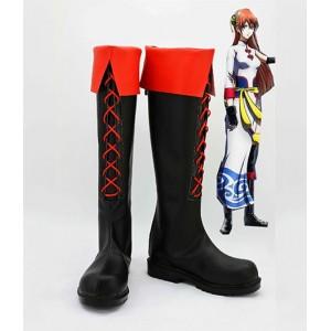 Gintama : Kagura Chaussures Faites La Main Cosplay