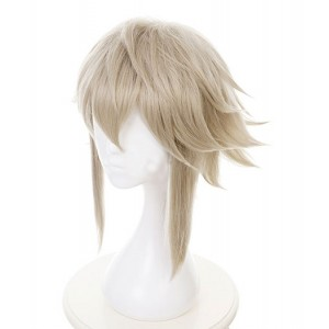 Gintama : Haute Qualité Gris Court Wig Kamui Cosplay