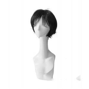 Gintama : Noir Court Wig Shimura Shinpachi Cosplay Acheter