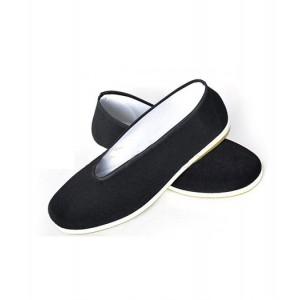 Gintama : Noir Tissu Chaussures Kagura Cosplay Vente Pas Cher