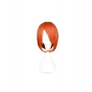 Gintama : Haute Qualité Orange Long Wig Kagura Cosplay
