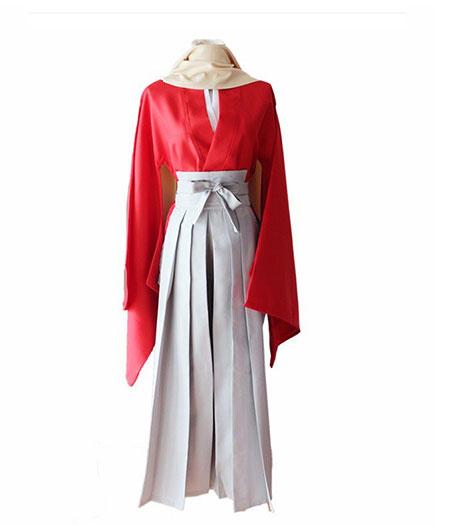 Gintama : Rouge Kimono Okita Sougo Costume Cosplay Acheter