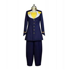 JoJo's Bizzare Adventure : Bleu Foncé Josuke Higashikata Costume Cosplay Acheter