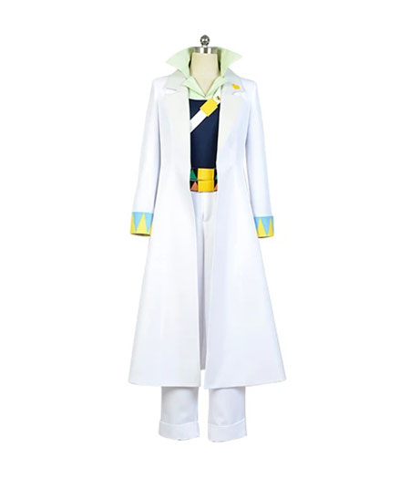 JoJo's Bizzare Adventure : Blanc Kujo Jotaro Coat Costume Cosplay Vente Pas Cher