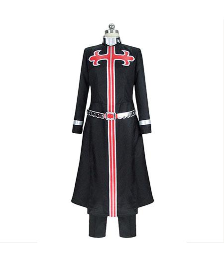 JoJo's Bizzare Adventure : Enrico Pucci Noir Long Coat Costumes Cosplay Achat