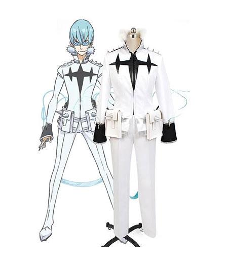 KILL la KILL : Blanc Houka Inumuta Costume Cosplay Acheter