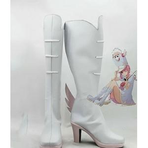 KILL la KILL : Haute Qualité Nonon Jakuzure Blanc Boots Cosplay
